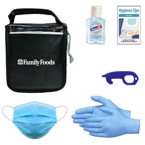 Ppe Kit Featuring No-Touch Tool